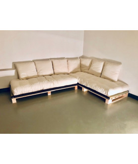 Banquette d'angle convertible